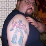 Les tatouages de super-héro ne font pas exception